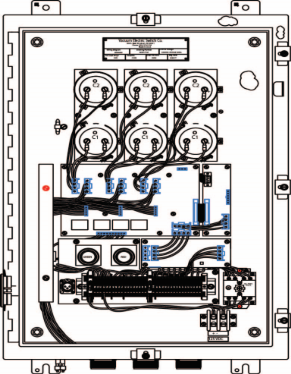 Three Switch Control | Vacuum Electric Switch Co.™